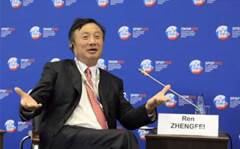 Huawei CEO speaks publically for first time