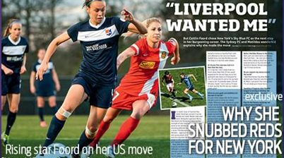 'Liverpool wanted me,' says Foord