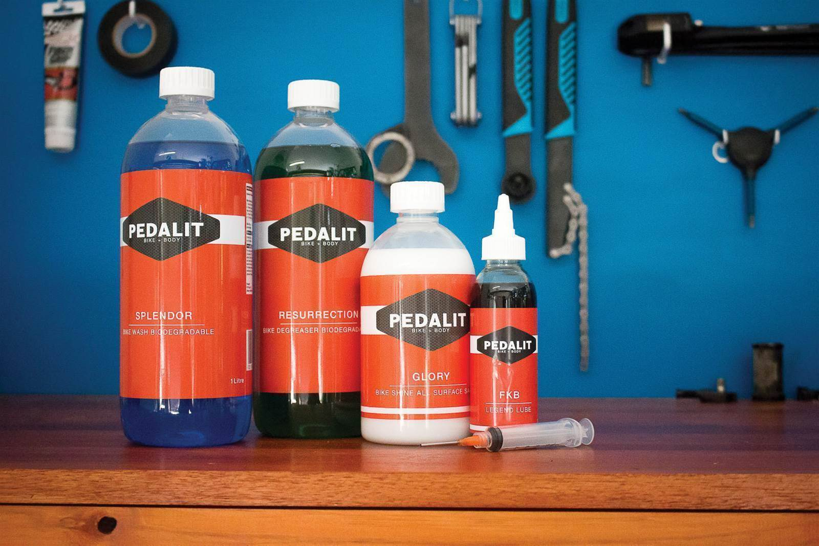 TESTED: Pedalit bike care range