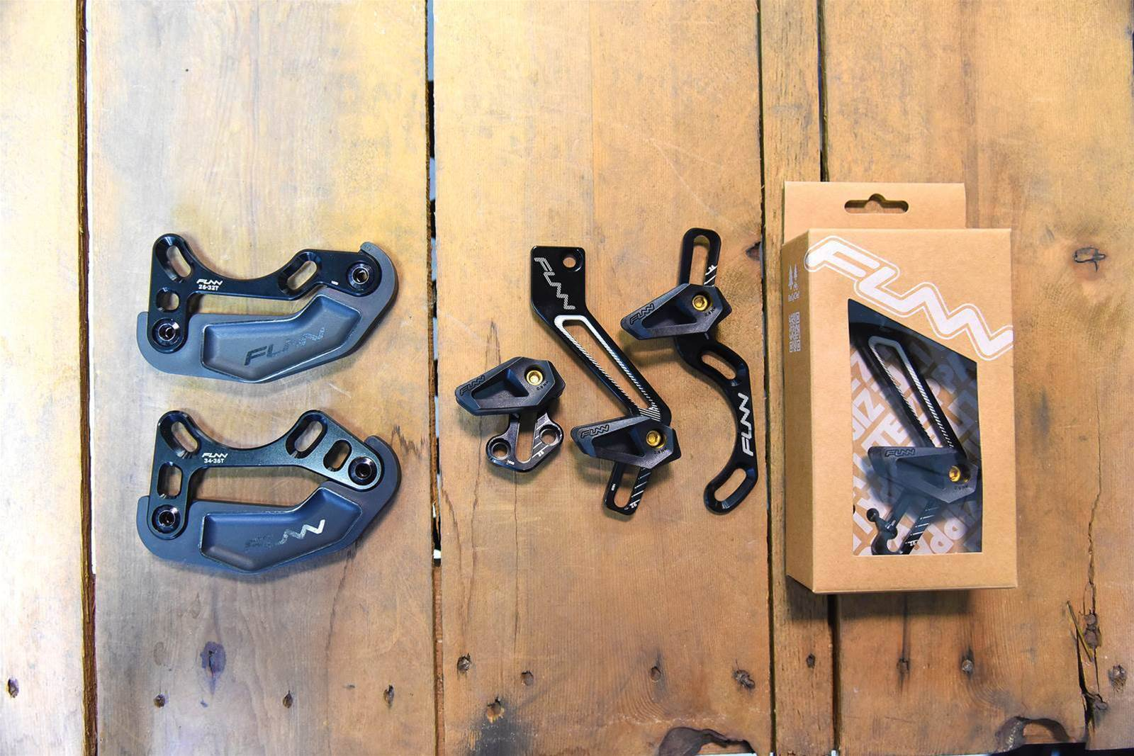 TESTED: Funn Zippa lite chain guides
