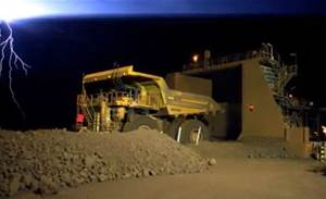 Video: Rio Tinto shows off driverless trucks