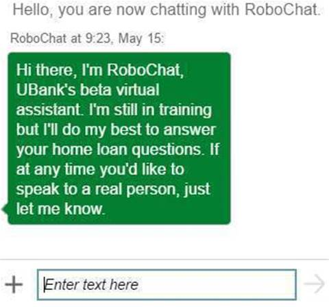 UBank launches AI robot for home loan applications