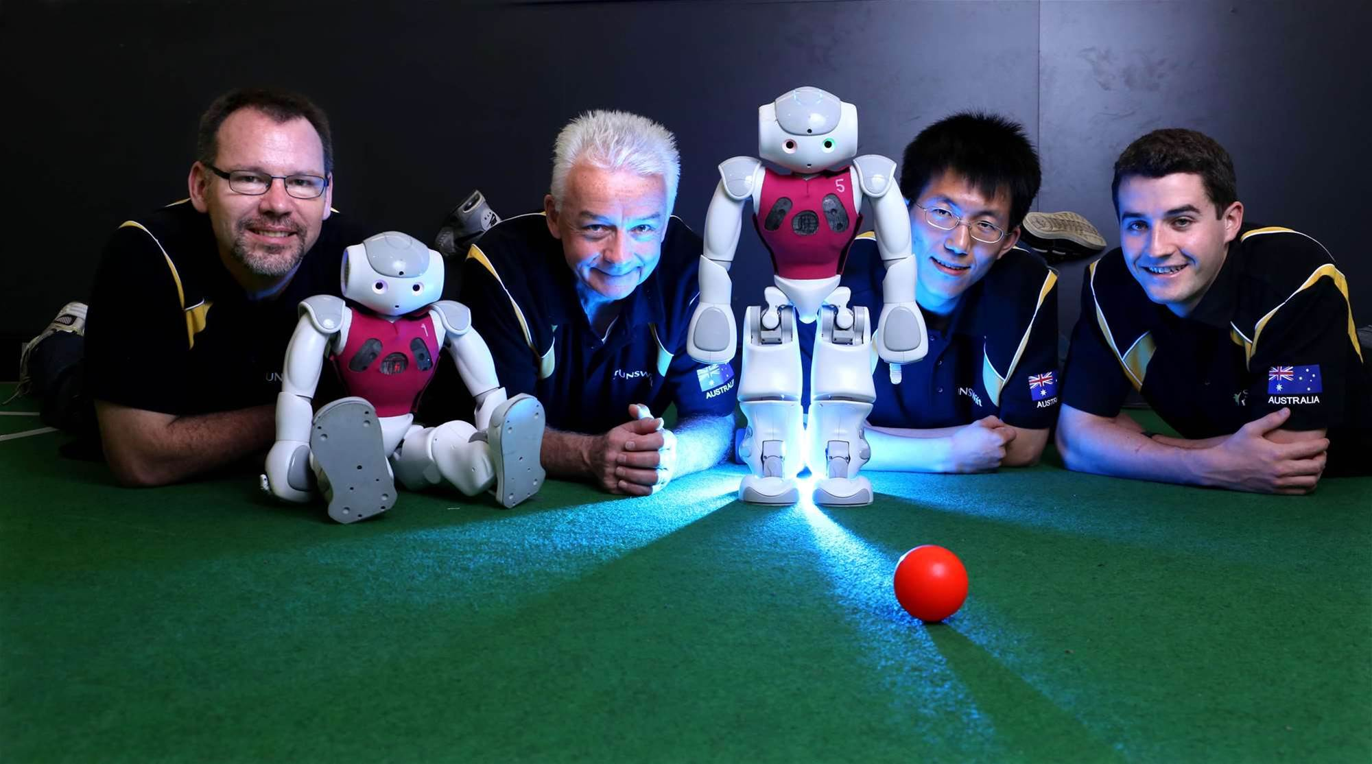 UNSW robots win world football RoboCup