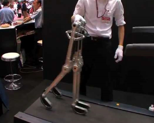 Passive-Walking Robot Can Stroll Downhill Forever With No Power Source