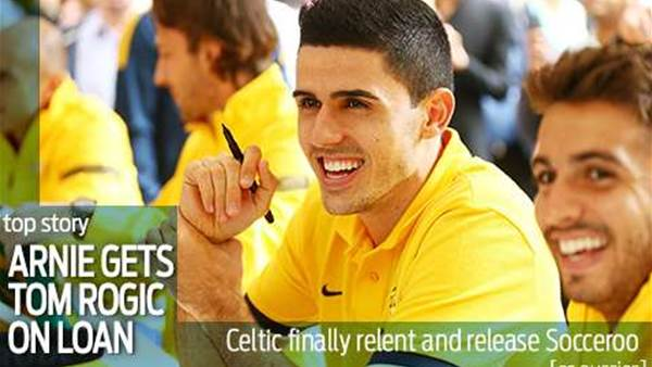 Arnie lands Rogic on loan