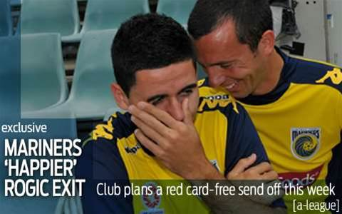 Happier Mariners send-off for Rogic this week