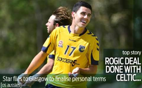 Tom Rogic finalising deal with Celtic