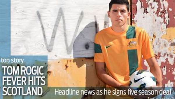 Tom Rogic fever hits Scotland as deal signed