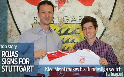Stuttgart sign Rojas in revamp