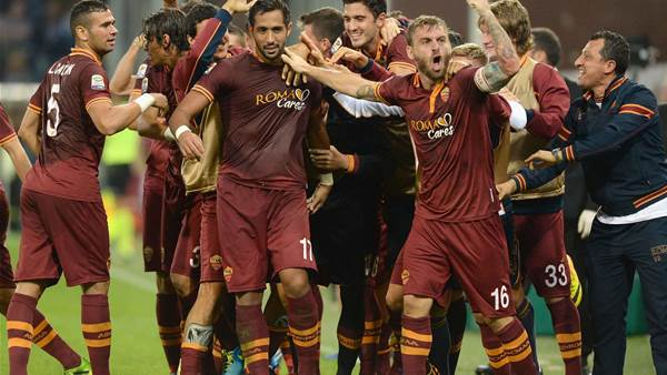 No title talk for rampaging Roma