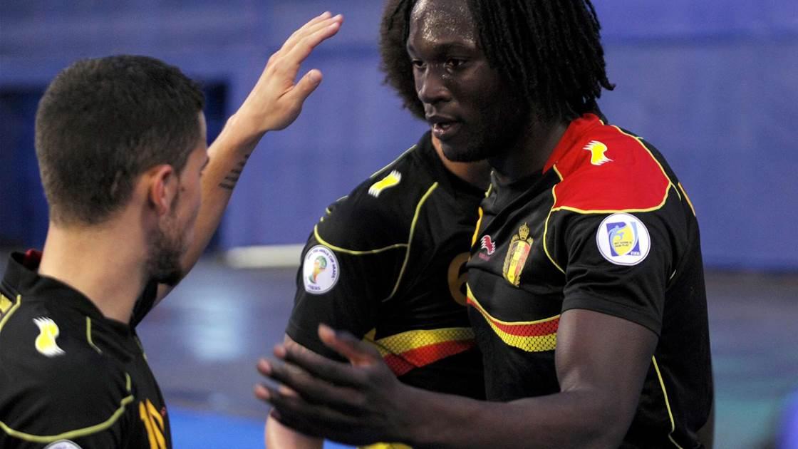 Lukaku praises Belgium spirit after sealing qualification