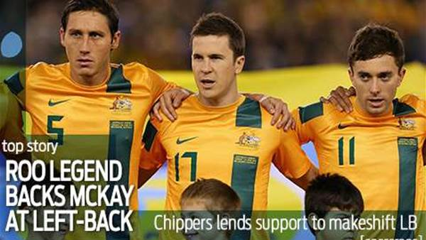 Chipperfield backs leftback McKay