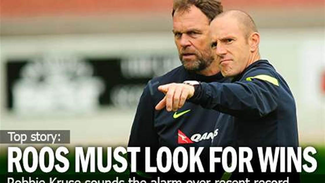 Kruse: Socceroos Need To Win