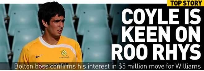 Bolton Boss Is Keen On Roo Rhys