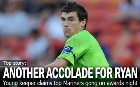 Ryan Wins Mariners Medal