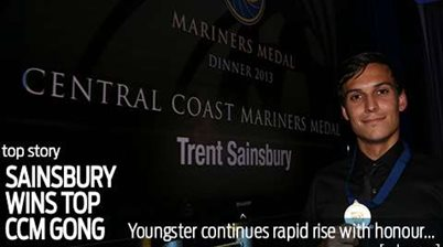 Mariners Medal goes to young Roo