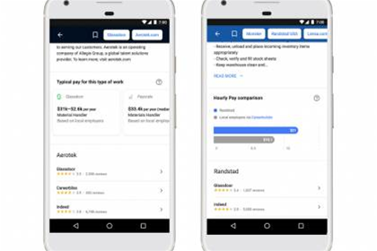 Google beefs up job search tool with salary data