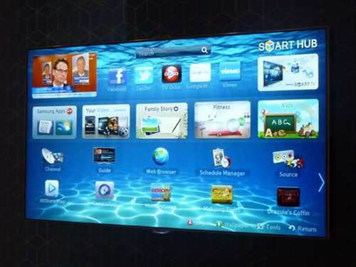 Samsung Smart TV 2012 hands on