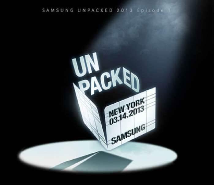 Watch the Samsung Galaxy S4 launch