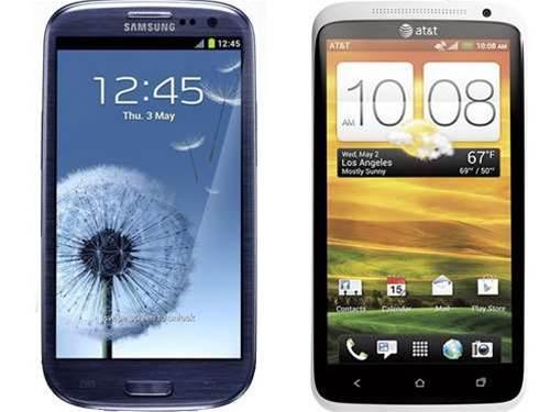 First impressions: Samsung Galaxy S3 vs HTC One X