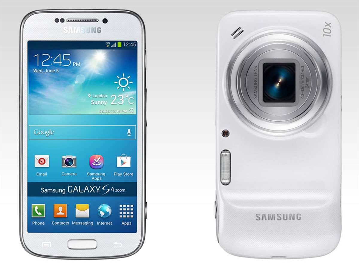 Samsung Galaxy S4 Zoom officially announced