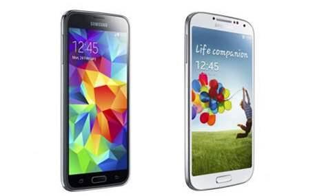 Samsung Galaxy S4 vs Samsung Galaxy S5