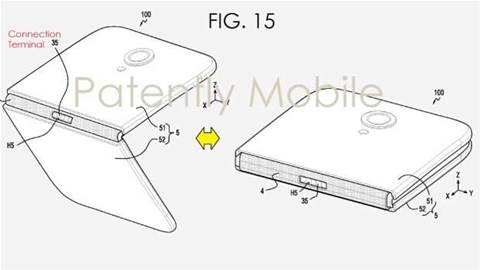 Samsung is working on a foldable smartphone