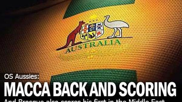 OS Aussies: Macca Back In Scoring Form