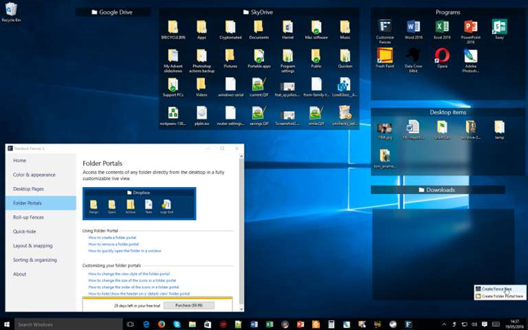Stardock releases Fences 3.0, adds Windows 10 support, roll-up fences