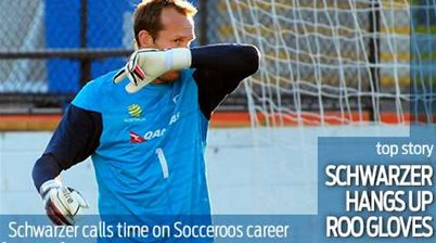 Schwarzer hangs up his Roo gloves