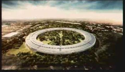 Steve Jobs' iSpaceship to land in Cupertino