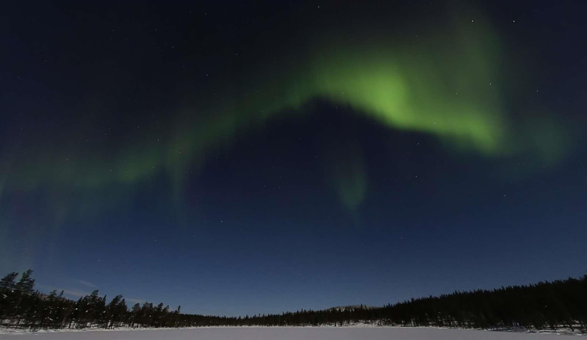 Walk Under The Aurora On Google Maps
