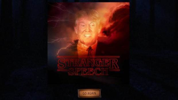 This site uses AI to transform your pictures into Stranger Things-style posters