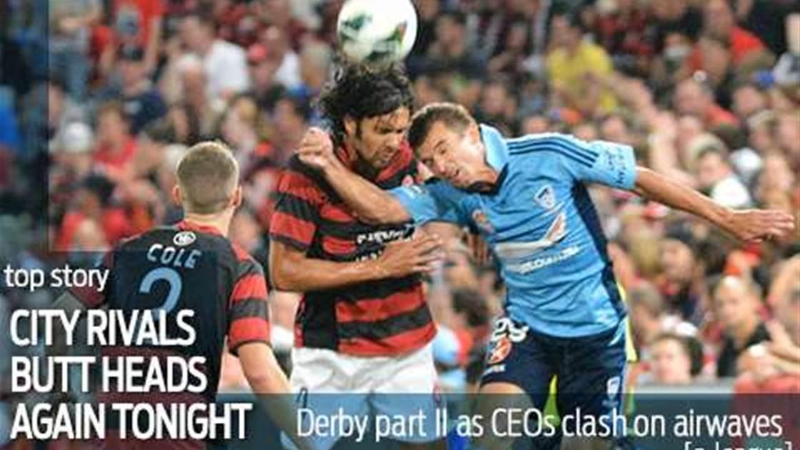 Derby Part II as rival CEOs clash on air