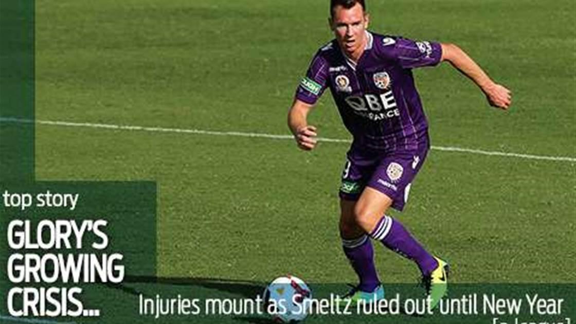 Glory's growing injury crisis