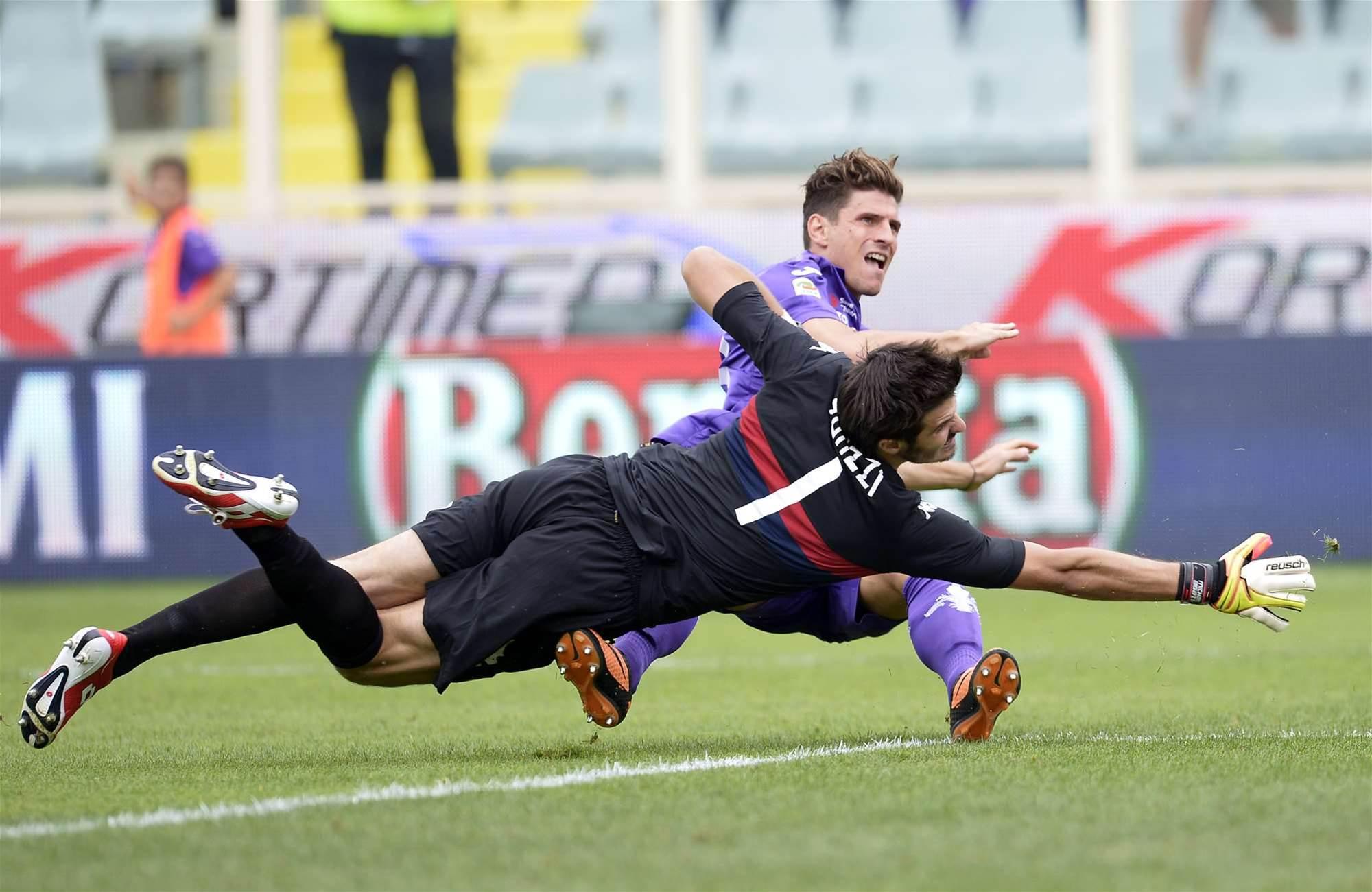 Serie A: Fiorentina held, Lazio cruise to win