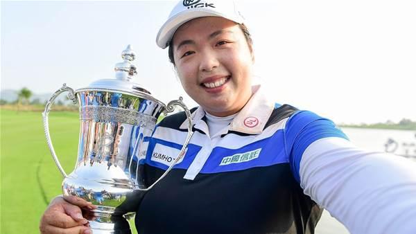 LPGA TOUR: Fantastic Feng goes back-to-back