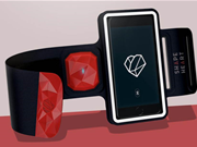 Shapeheart keeps your smartphone handy while you get sweaty