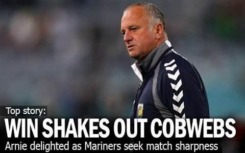 Mariners Shake Out Cobwebs With Win