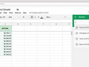 Google Sheets adds machine learning for natural language charts