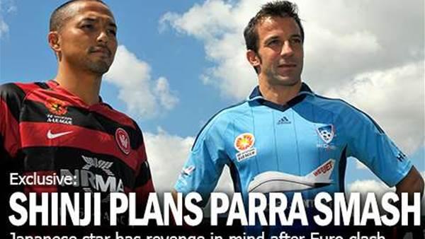 Shinji Plans Parra Splash