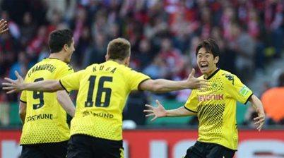 Kagawa keen on Dortmund return