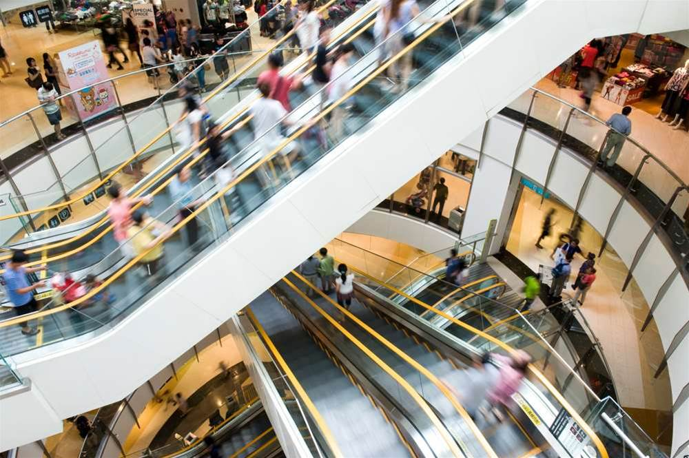 Shopping mall WiFi a study in phone, app choice
