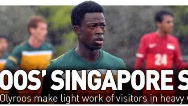 Olyroos' Singapore Sting