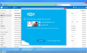 Microsoft rolls Skype into Outlook.com