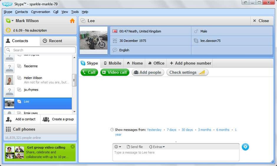 Skype 5.3 released, offering better mobile video calls