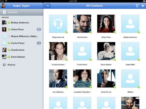 Updated Skype for iPad and iPhone includes Bluetooth support and anti-shake