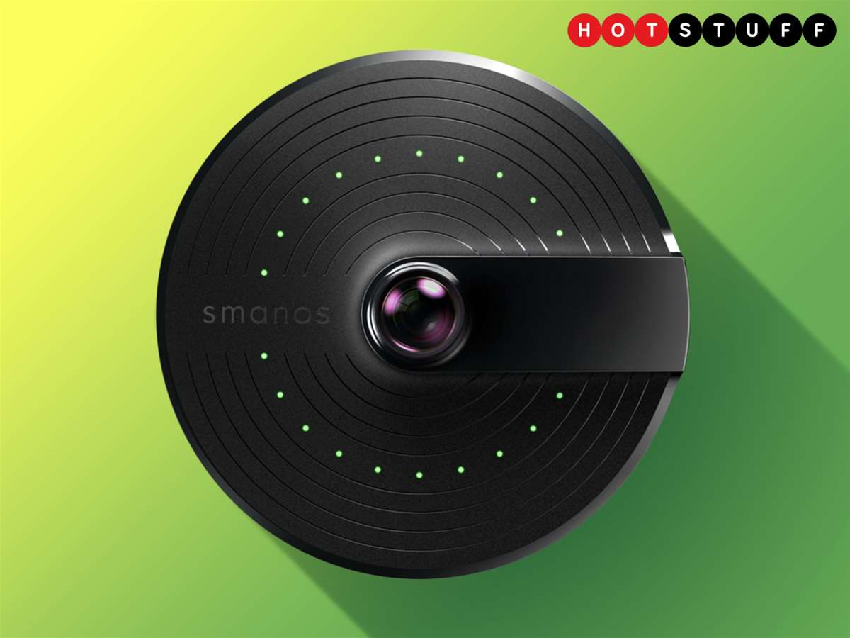 Smanos' UFO is an all-seeing eye of home security