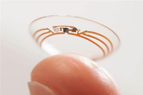 Google tests smart contact lens