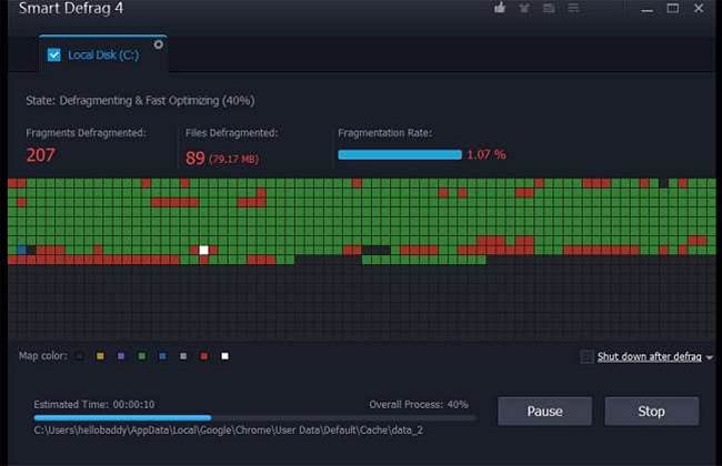 IObit has shipped Smart Defrag 5, a major update of its freeware disk optimizer.